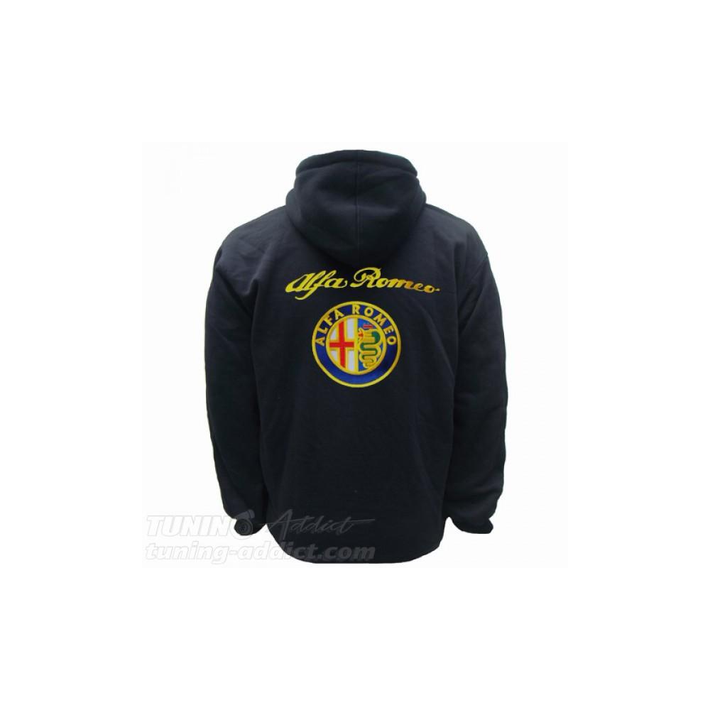 Hoodie Alfa Romeo Sweat Capuche Sweatshirt