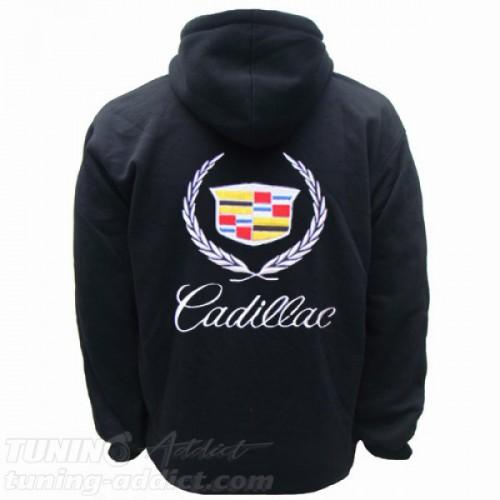 HOODIE CADILLAC SWEAT CAPUCHE