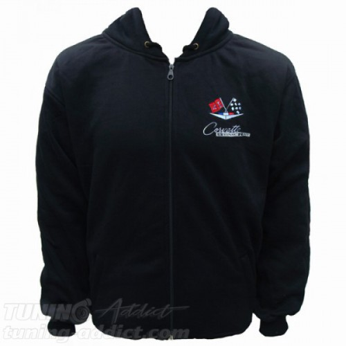 HOODIE CORVETTE C2 STINGRAY SWEAT CAPUCHE
