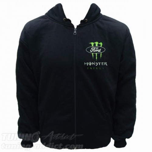 HOODIE FORD MONSTER RACING SWEAT CAPUCHE