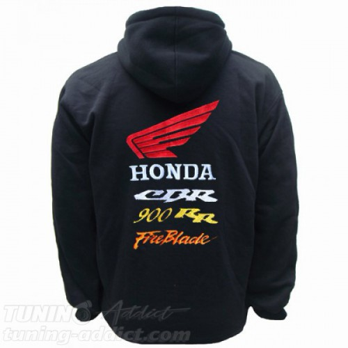 HOODIE HONDA CBR 900 FIREBLADE SWEAT CAPUCHE