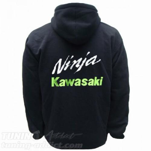 HOODIE KAWASAKI NINJA SWEAT CAPUCHE