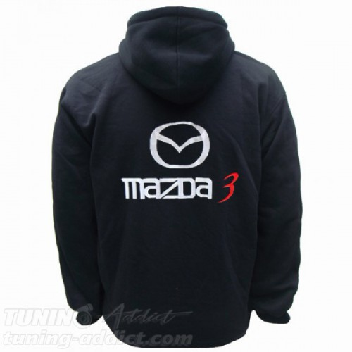 HOODIE MAZDA 3 SWEAT CAPUCHE