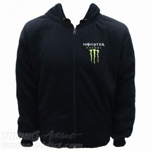 HOODIE MONSTER ENERGY SWEAT CAPUCHE
