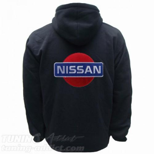HOODIE NISSAN SWEAT CAPUCHE