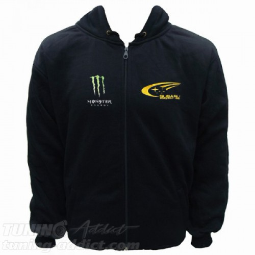 HOODIE SUBARU MONSTER RACING SWEAT CAPUCHE