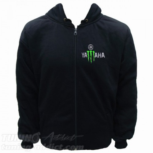 HOODIE YAMAHA MONSTER RACING SWEAT CAPUCHE
