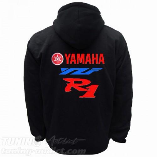 HOODIE YAMAHA R1 SWEAT CAPUCHE