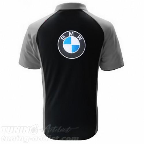 POLO BMW COULEUR NOIR ET GRIS