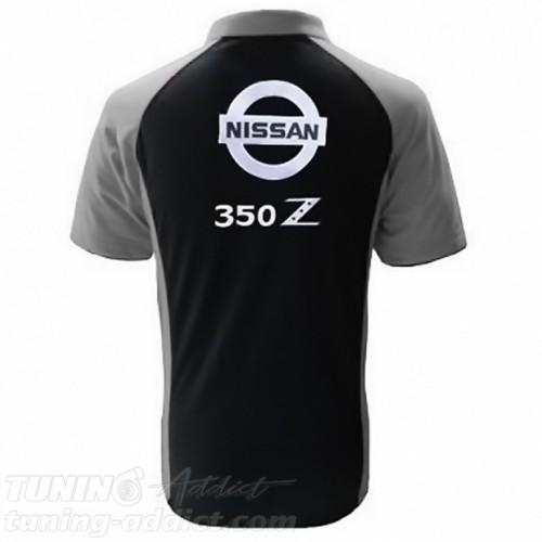POLO NISSAN 350Z - NOIR / GRIS