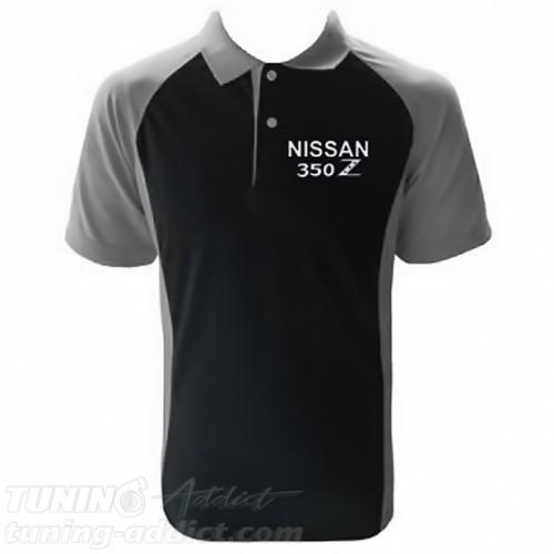 POLO NISSAN 350Z COULEUR NOIR ET GRIS