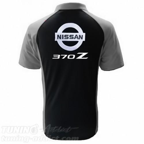 POLO NISSAN 370Z - NOIR / GRIS