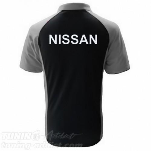 POLO NISSAN SKYLINE GTR COULEUR NOIR ET GRIS