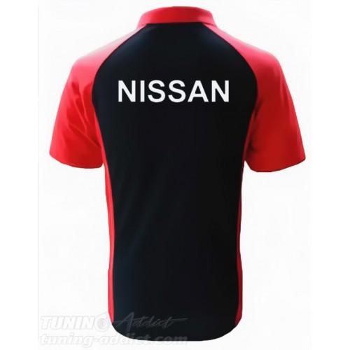POLO NISSAN SKYLINE GTR - NOIR / ROUGE