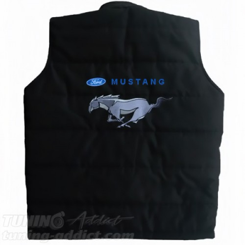 BLOUSON FORD MUSTANG SANS-MANCHES