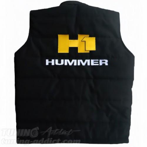 BLOUSON HUMMER H1 SANS-MANCHES