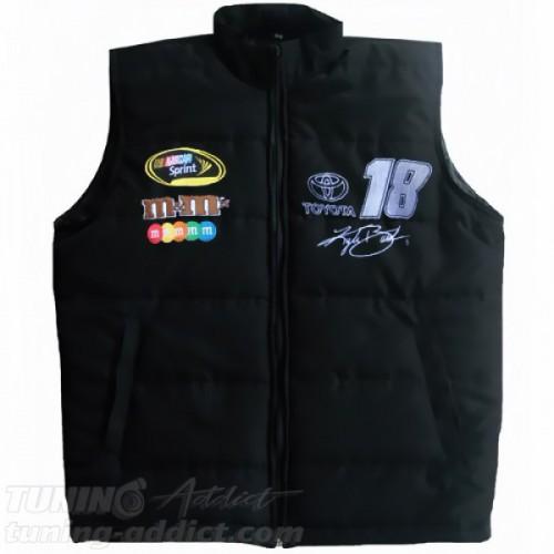 BLOUSON KYLE BUSH NASCAR SANS-MANCHES