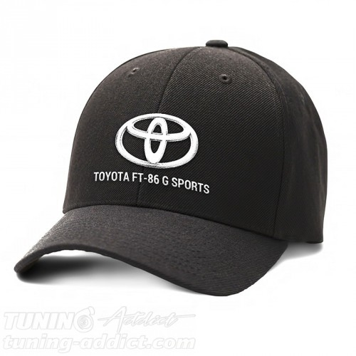 CASQUETTE TOYOTA FT-86 G SPORTS