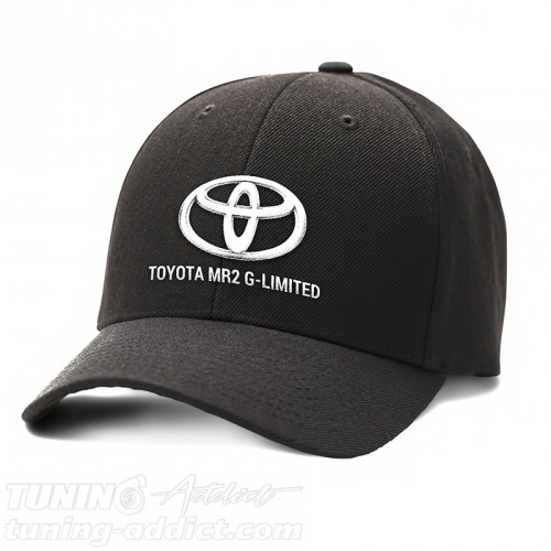 CASQUETTE TOYOTA MR2 G-LIMITED